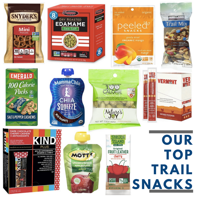 top trail snacks